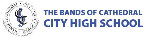 The Bands of Cathedral City High School Logo